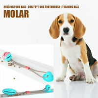 Pet Leaking Food Ball Toy Dog Molar Tooth Puzzle Leaking Bite Toy w/ Suction Cup