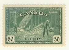 Canada Stamp Scott # 272 50-Cents Logging MNH