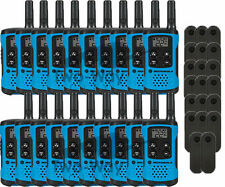 Motorola Talkabout T100 Walkie Talkie 20 Pack Set Two Way Radios Blue New