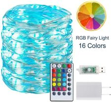 Supernight Fairy Lights USB With Remote 33ft 100LEDs 16 Color Changing Lights
