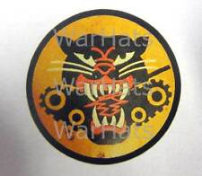 USA WWII Tank Destroyer Battalions Helmet Decal Antiqued Paper M1 M38 M1938 WW2