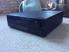 Denon Multi Laser Disc Player MLD Model LA-2100 black vintage large cd pcm