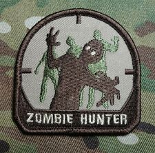 ZOMBIE HUNTER TACTICAL OUTBREAK US ARMY RESPONSE TEAM MULTICAM ARID HOOK PATCH
