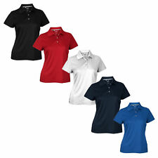 Adidas Women's Climalite Textured Solid Golf Polo, Color Options