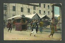 Used March 211913 Postcard Canton Street Scene Manila Philippines to Juneau