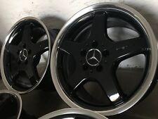 "AMG Felgen 17"" Styling 3 Schwarz Mercedes W202 W208 W209 R170 R171 W124 W201"