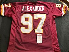 Lorenzo Alexander Signed Washington Redskins Custom Pro Style Jersey JSA WPP