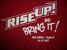 NBA Cleveland Cavaliers Red T-Shirt X-Large/XL EUC!