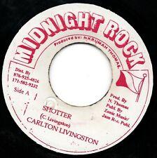 CARLTON LIVINGSTON : Shotter *** reggae record vinyle - - HEAR !!! (ww)