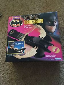 Vintage 1990 Batman Dark Knight Collection CROSSBOW- Kenner NOS