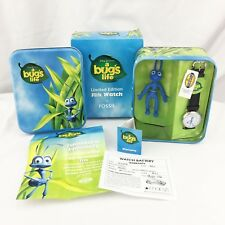 Disney Pixar Cast & Crew Gift Edition Fossil Watch A Bugs Life # 570/5000