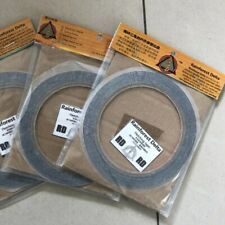3 Roll Adhesive Feather Fletching Tape Glue Archery Fletches Arrow Diy Tool 10M
