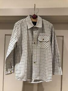 Boys Checked Shirt. Age 5-6