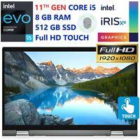 Dell Inspiron 7000 2-in-1 Intel Evo Core i5- 512GB SSD+32GB Optane- 8GB RAM-HDMI