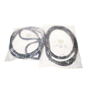 Fit Mitsubishi Chrysler Sigma Colt Galant A121 1600 Front Door Weatherstrip Pair