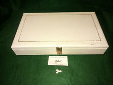 Large TALLENT of Old Bond Street Musical Jewellery Box - plays Brahms Lullaby