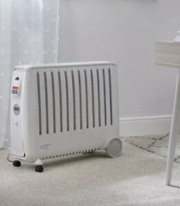 Dimplex Cadiz Eco 2 KW Electric Oil Free Portable Radiator - White