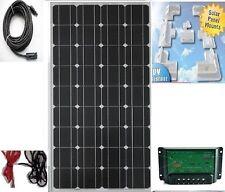 100 w panneau solaire équipement remorque bateau coin support controller 3 + 3 neuf