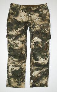 CABELAS Camouflage Hunting Cargo Pants OCTANE 02 Camo Mens sz 34 Reg