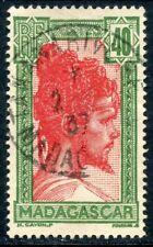 TIMBRE DE MADAGASCAR N° 170 OBLITERE JEUNE HOMME MALGACHE