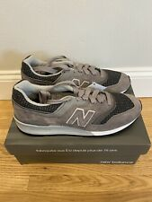New Balance 997 sneakers in herringbone, NWB, Woolen Grey, Size 10