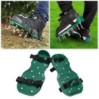 30x13cm Spikes Pair Lawn Garden Grass Aerator Aerating Sandals Shoes Home Tool
