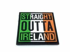 Straight Outta Ireland Airsoft Paintball PVC Morale Patch