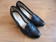 VIVA LA DIVA LADIES SHOES BLACK LEATHER? SIZE 4D BNWOT