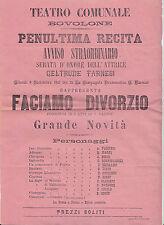 H900-VERONA-BOVOLONE-TEATRO COMUNALE 1901