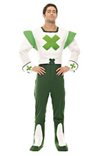 Green Cross Code Mann Herrenkostüm Karneval Verkleidung