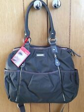 Storksak Olivia Changing Bag - Charcoal Grey - Brand New all accessories Rrp£98