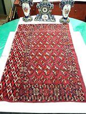 Antique Hand Knotted Tekke Turkoman Rug
