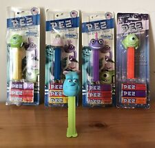 Set Of 5 Monsters' University Pez Dispensers - 4 Mint On Card, 1 Loose
