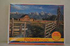 "Kodacolor Puzzle 1000 Piece ""Home on The Range"" Factory Sealed 1996 by Rose Art"