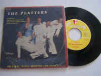 EP 4 TITRES VINYLE 45 T , THE PLATTERS , MY PLAYER  . B / VG+ . MERCURY 14.179 .