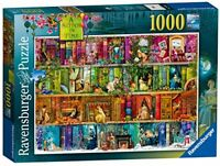 Ravensburger A Stitch in Time 1000pc Jigsaw Puzzle Bookshelves Christmas Gift