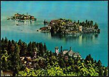 AD4663 Isola Bella e Isola Pescatori (VB) - Panorama - Cartolina postale