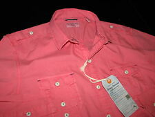 Tommy Bahama Paradise Popin Candy Rose LS New Shirt Large L T310334