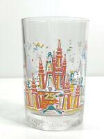 Vtg McDonalds Glass WDW Remember The Magic 25th Anniversary Magic Kingdom 1996