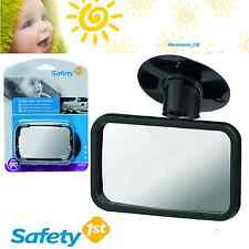 Safety First Child View Car Mirror Rear View Suction Cup Adjustable Mirror