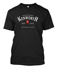 Kenworth Trucking  - Custom Men's Black T-Shirt Tee