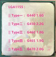 Intel Celeron G440 G450 G460 G465 G470 LGA1155 CPU