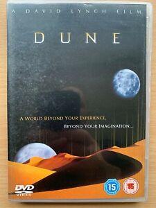Dune DVD 1984 David Lynch Frank Herbert Sci-Fi Movie Classic w/ Kyle MacLachlan