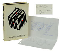 The Dice Man by LUKE RHINEHART ~ SIGNED First Edition with ALS 1971 ~ Letter