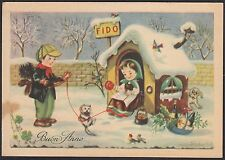 AA4810 Buon Anno - Cartolina postale augurale - Postcard