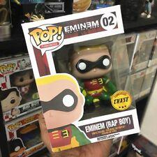 "Custom Funko Pop! Pop Rocks Eminem As Robin (RAP BOY) ""Without Me"" Chase Box!"