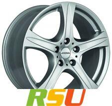 "4x Ronal R55 SUV kristallsilber 9.5x20"" ET30 LK5 112 ML 66.5 Alufelgen 20 Zoll"