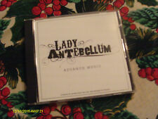 Lady Antebellum 4 Song Advance CD 2008