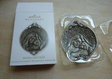 Hallmark Keepsake Ornament Mother and Child 2012 die cast metal QXG3541