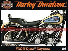 HARLEY DAVIDSON FXDB 1340 Dyna Daytona Rat Bikes La Revue HD The ENTHUSIAST MOTO